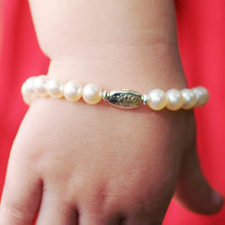 Freshwater Cultured Pearl Grow-With-Me Bracelet