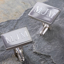 Personalized Herrington Collection© Engraved Cuff Links