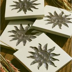Sun Face Coasters