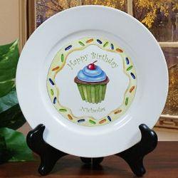 Happy Birthday Plate for Boy
