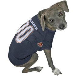 Chicago Bears Navy Blue Dog Jersey