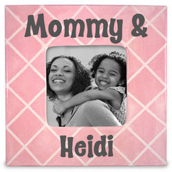 Mommy and Me Personalized Photo Frame