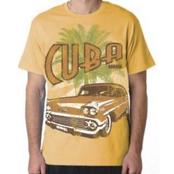 Cuba and Old Car T-Shirt
