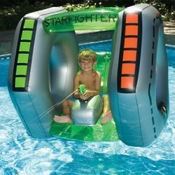 Star Fighter Inflatable Pool Super Squirter