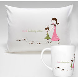 So Blessed to Have You Pillowcase and Mug