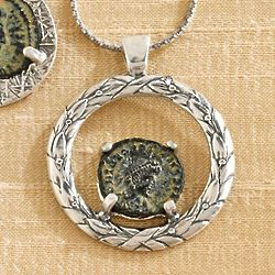 Emperor Constantine Coin Necklace