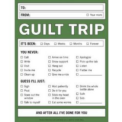 Guilt Trip Citation Pad
