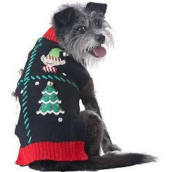 Holiday Party Dog Sweater