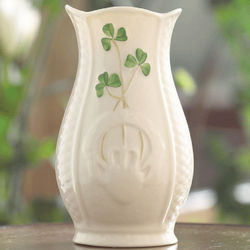 Mini Gaelic Belleek Vase