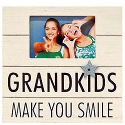 Grandkids Make You Smile Frame