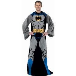 Batman Throw Blanket with Sleeves