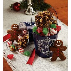 Snowy Night Glitter Sweets Pails