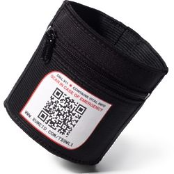Black Sport Your ID Elastic Armband