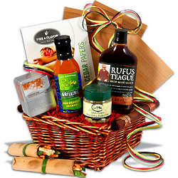 BBQ Sauce and Seasoning Gift Basket