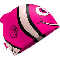 Happy Fish Silicone Swim Cap