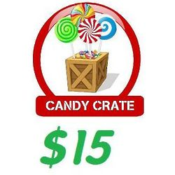 Candy Crate $15 Gift Certificate