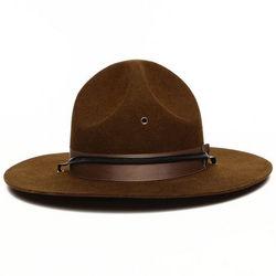 Men's Military Campaign Felt Hat