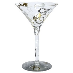 Wedding Martini Glass