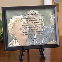 Photo Sentiments for Her Plaque