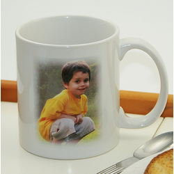 Personalized Photo and Text Coffee Mug