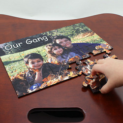 Personalized Photo 30 or 60 Piece Puzzle