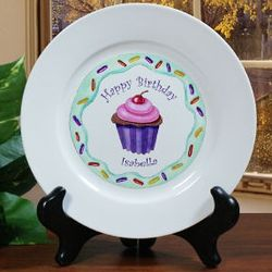 Happy Birthday Plate for Girl