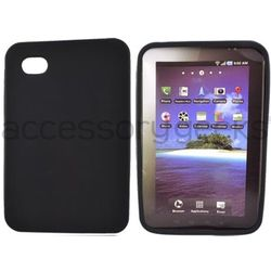 Luxmo Galaxy Tab P1000 Silicone Case in Black