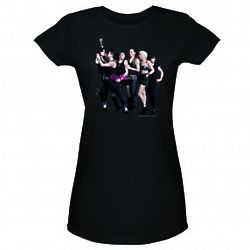 The Real L Word Brooklyn Cool Women's Black T-Shirt