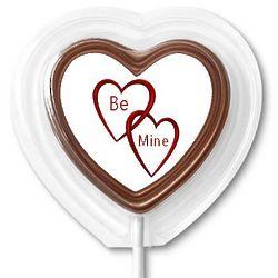 Be Mine Chocolate Lollipop