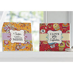 Sweet Sentiments Ceramic Tile