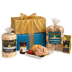 English Muffins and Scones Signature Gift Tower Delight