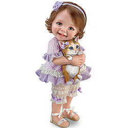 Welcome Home Kitty Poseable Child Doll