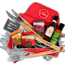BBQ Tools and Seasoning Gift Basket