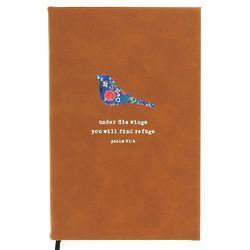 God Notes Floral Bird Journal