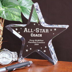 All-Star Coach Keepsake