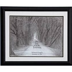 Personalized Joy of the Journey Print