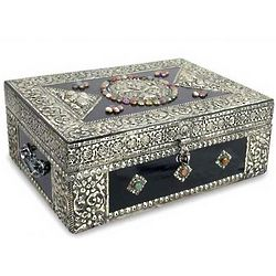 Charisma Brass Jewelry Box
