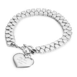 Endless Heart Bracelet