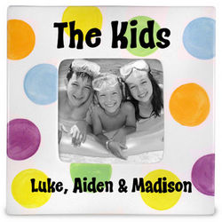 """The Kids"" Personalized Picture Frame"