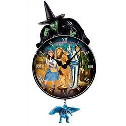 Wizard Of Oz Decorative Wall Clock: I'll Get You, My Pretty!