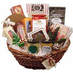 Holiday Greetings Gift Basket
