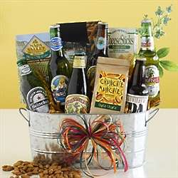 Munchies and Beer Gift Basket