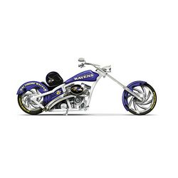 NFL Baltimore Ravens Champion Chopper Figurine