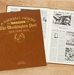 Washington Post New York Jets Personalized Book
