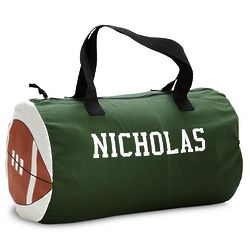 Personalized Football Sports Duffel Bag