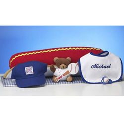 Hot Dog Ballpark Layette Set