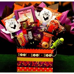 Boo Mania Halloween Candy Bouquet
