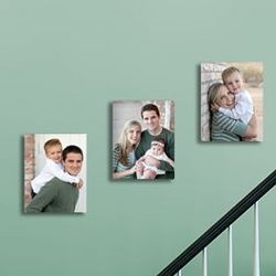 Custom Photo Three Panel Wall Display
