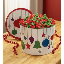 Butter Popcorn Jewel Ornament Tin