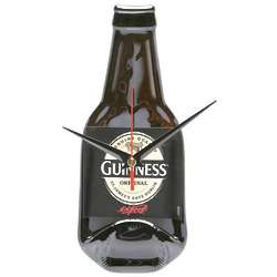 Guinness Recycled Bottle Clock